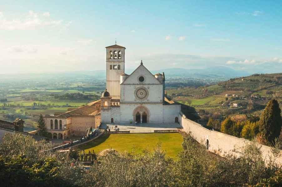 Casa vacanze in affitto Assisi al Quattro vicino alla Basilica di San Francesco