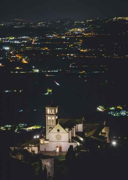 Spirituality. Basilica of Saint Francis of Assisi is the destination for pilgrims